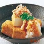 厚揚げ豆腐レシピ 簡単にレンジで作る方法・冷凍する方法
