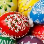 イースターエッグ 作り方 ゆで卵に食紅で色をつける方法