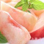 生の桃を使ったお菓子 レシピ 上手な剥き方も紹介します。