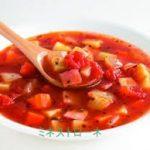 夏野菜で作る冷たいミネストローネのレシピ