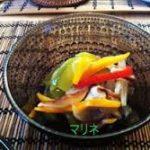 パプリカときのこのマリネ!レシピはすし酢で簡単