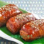 肉巻きおにぎりレシピ 豚肉で冷凍作り置き出来ます