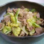 豚肉とキャベツの人気レシピ お弁当にも味噌味で簡単