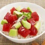 アボカド丼レシピ タレ・納豆・ツナ・豆腐・鶏肉・豚肉・マグロ